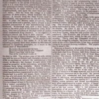 Extracts : Pigot's Directory for Marple : 1834