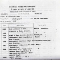 Historical manuscripts commission, National Register of Archives - Estate papers relating to Marple Hall.