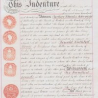 Indenture : F C Arkwright & R C King : Lease of The Old Mill House : 1921