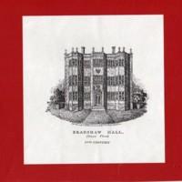 Sketches of Bradshaw Hall : 17th Century