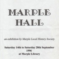 """The """"House we Lost"""" Exhibition - cutting from Living Edge 2001 (Marple Hall)"""