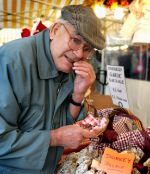 Peter Bardsley in 2006 at the Stockport Gourmet Market